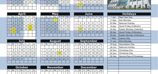 Athens Stock Exchange (ASE) 2019 Holiday Calendar