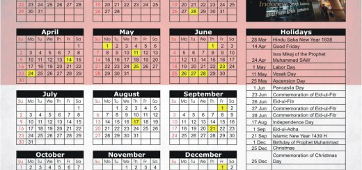 Indonesia Stock Exchange (IDX) 2017 Holiday Calendar