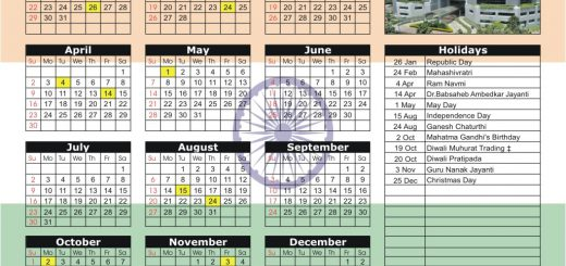 National Stock Exchange (NSE) 2017 Holiday Calendar
