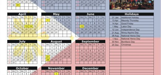 Philippine Stock Exchange (PSE) 2017 Holiday Calendar