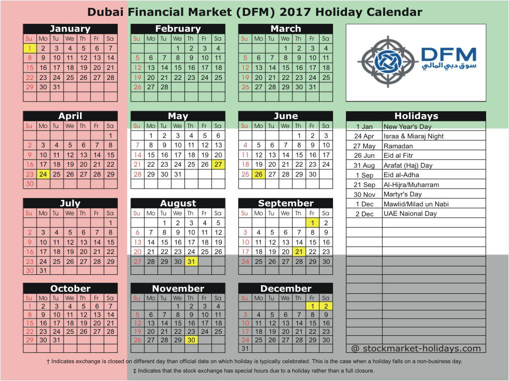 Dubai deals october 2018