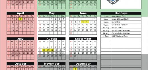 Dubai Financial Market (DFM) 2019 Holiday Calendar