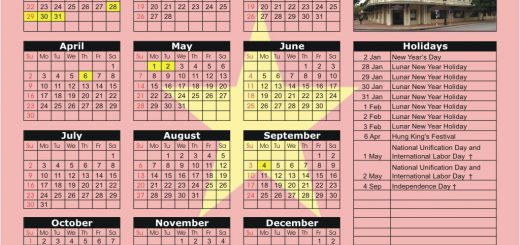 Hanoi Stock Exchange (HNX) 2017 Holiday Calendar