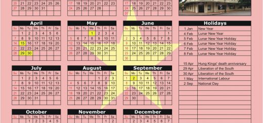Hanoi Stock Exchange (HNX) 2019 Holiday Calendar