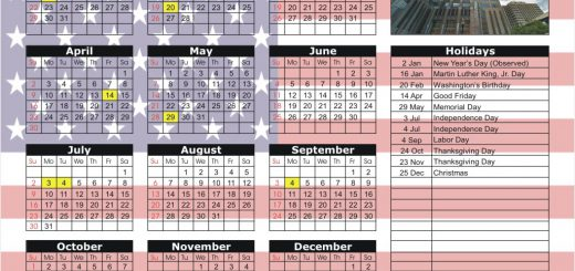 National Stock Exchange (NSX) - New Jersey 2017 Holiday Calendar
