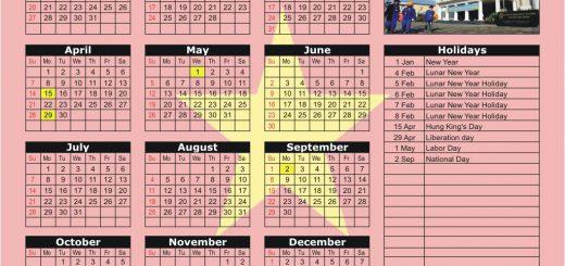 Ho Chi Minh Stock Exchange (HOSE) 2019 Holiday Calendar