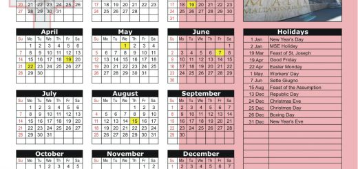 Malta Stock Exchange (MSE) 2019 Holiday Calendar