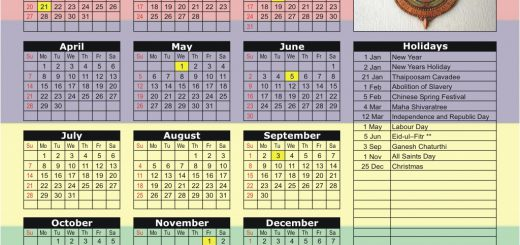 Stock Exchange of Mauritius (SEM) 2019 Holiday Calendar