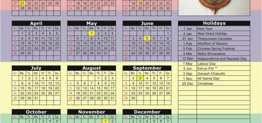 Stock Exchange of Mauritius (SEM) 2019 Holiday Calendar